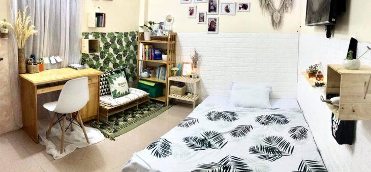 Tự trang trí phòng trọ nhỏ với những món Decor cực xinh